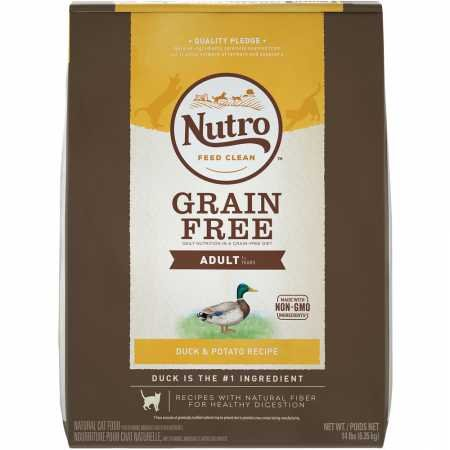 Natural Choice Grain Free Adult Cat Limited Ingredient Duck and Potato Dry Food, 14-Pound