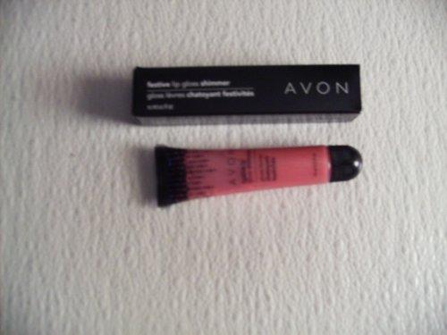 Avon Festive Lip Gloss Shimmer Sugar Ice
