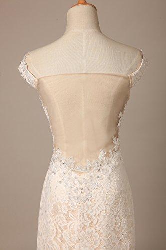 Bridal_Mall - Robe - Dos nu - Sans Manche - Femme -  - 34
