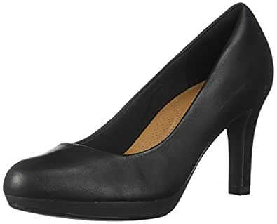 Clarks Womens Adriel Viola Adriel Viola Black Size: 5 US / 5 AU