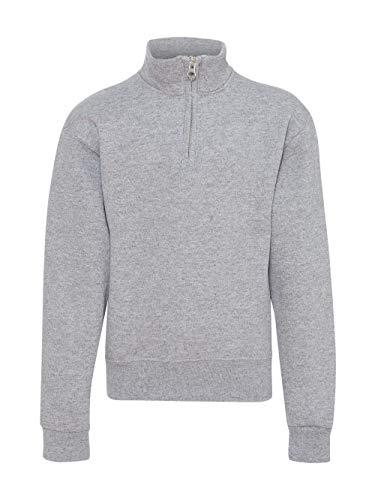 Youth Quarter Zip Pullover - JERZEES 995YR - Nublend Youth Quarter-Zip Cadet Collar Sweatshirt