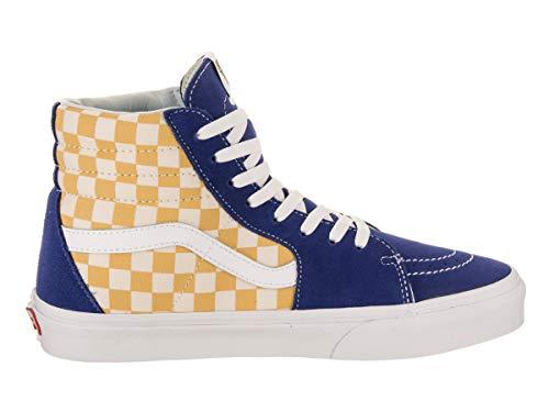 Pictures of Vans Unisex Sk8-Hi BMX Skate Shoe True Blue/Yellow 2