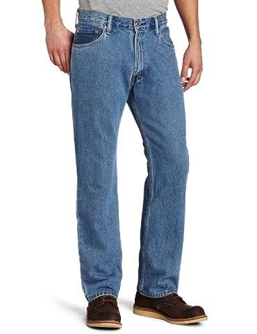 Levi's Men's 505 Regular Fit Jean, Medium Stonewash, 36x29