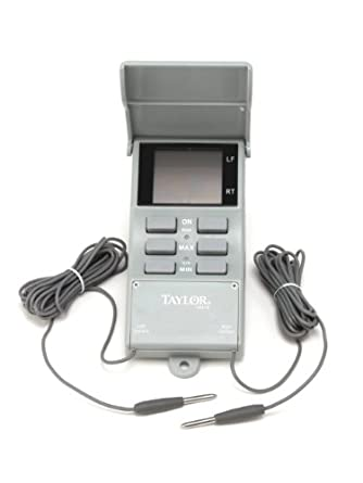 Taylor Precision Products Digital Waterproof Maximum/Minimum Thermometer (-20- to 120-Degrees Fahrenheit)