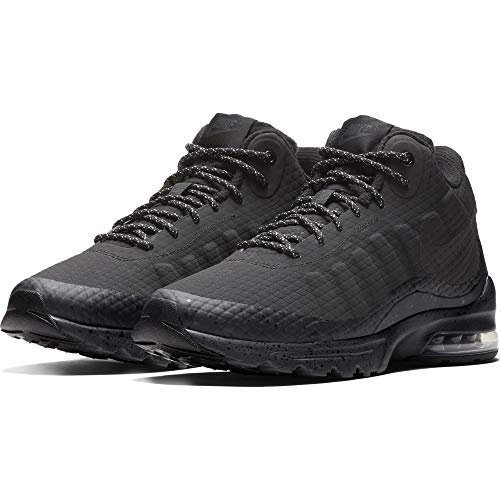 Nike Men Air Max Invigor Mid, Black/Black Anthracite