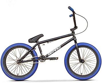 GASLIKE Bicicleta BMX de 20 Pulgadas para Ciclistas Principiantes a avanzados, Cuadro de Acero al Cromo molibdeno de Alta Resistencia, Engranaje BMX 25x9T: Amazon.es: Deportes y aire libre