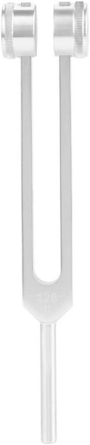 Instrument de Musique de gu/érison Parfait Yosoo Health Gear Diapason 128HZ avec Marteau Diapason m/édical en Alliage daluminium