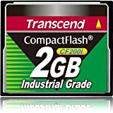 TRANSCEND, Transcend TS2GCF200I 2 GB CompactFlash (CF) Card (Catalog Category: Computer Technology / Electronic Components)