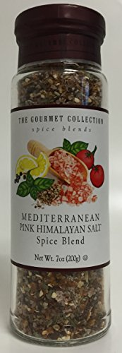 Mediterranean Herb - The Gourmet Collection Mediterranean Pink Himalayan Salt Spice Blend