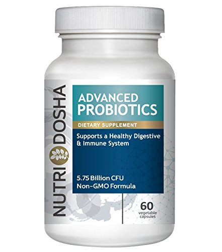 #1 Advanced Probiotics Happy Bacteria Supplement Blend of the 7 Best Strains. Builds Healthy Digestion & Maintains Strong Immune System Non GMO Vegan Friendly Lactobacillus and Acidophilus Capsules