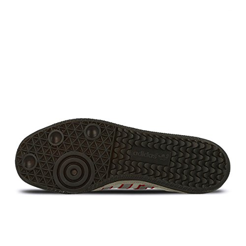 Adidas Men Hulton Spzl (beige / Marrone Chiaro / Granito Trasparente / Scarlatto) Beige / Marrone Chiaro / Granito Trasparente / Scarlatto