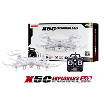 Syma x5C Explorers 2.4G 4CH RC Quadcopter Modo 2 Con la cámara de ...