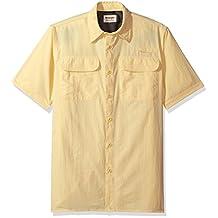 Wrangler mens Authentics Short Sleeve Utility Shirt