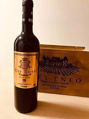 Rey Eneo D.O. Rioja Reserva Selección - Estuche de Madera 6 botellas: Amazon.es: Alimentación y bebidas