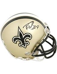 Drew Brees New Orleans Saints Autographed Riddell Mini Helmet - Fanatics Authentic Certified - Autographed NFL Mini Helmets