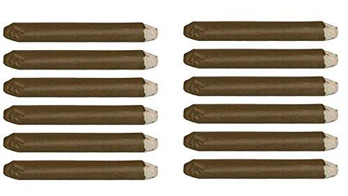 Set of 12-Fake Puffing Cigars-Gag -