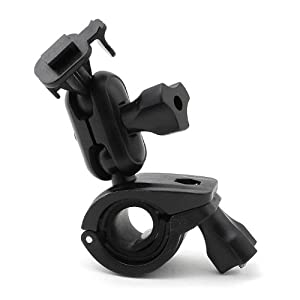 iSaddle CH214 Car Rearview Mirror Mount Holder Bicycle Handlebar Mount Holder For GPS In Dash Camera Car DVR Recorder DOD PAPOAGO HP Yi Blackbox...
