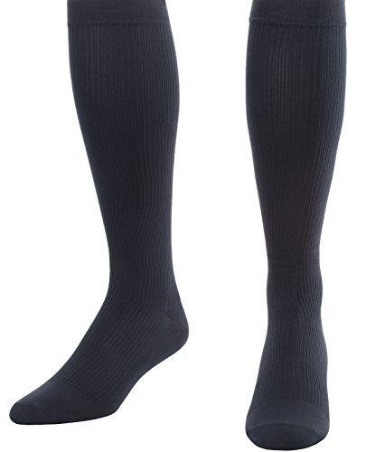 - Made in The USA - Medical Compression Socks for Men, Firm Graduated Support Socks 20-30mmHg - Closed Toe - 1 Pair - Absolute Support, SKU: A104NV4 (Navy, XL) - Helps with Poor Circulation, Edema