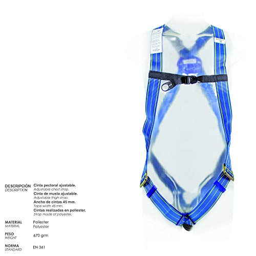 Wolfpack 15030060 Arnes Anticaidas Kit Seguridad Nº 1 (4 piezas ...