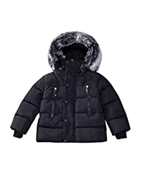 Gotd Baby Girl Boy Winter Cotton Hooded Coat Jacket Thick Warm Clothes