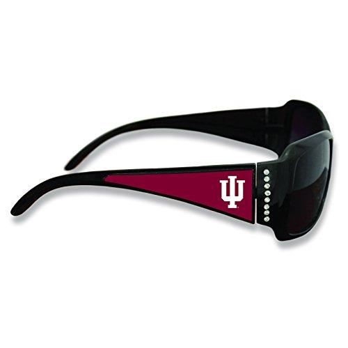 FTH Indiana Hoosiers Black Ladies Fashion Sunglasses with Arm Logo