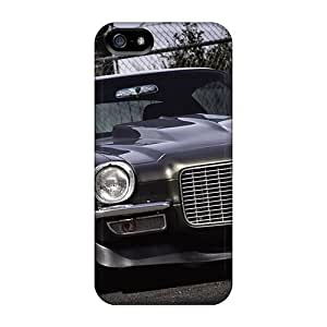 Hot Design Premium HWprG8689HkzZW PC For SamSung Galaxy S5 Phone Case Cover Protection Case(charcoal Grey Camaro)