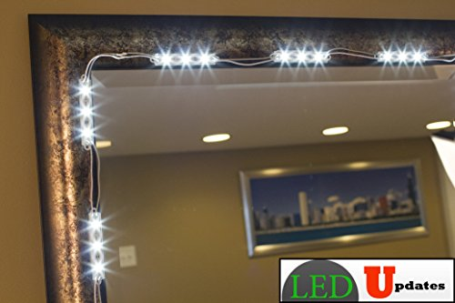 Lighted Mirror Bathroom Buy Bathroom Led Lighted Mirrors Backlit Mirrors Decoraport Usa Led: MAKE UP MIRROR LED LIGHT FOR VANITY MIRROR With Dimmer And