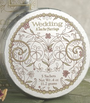 (Harney & Sons Wedding Tea Sachets 5 Sachets Not Personalized)