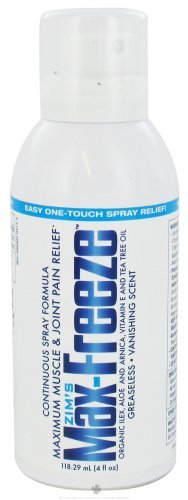 Vanishing Formula (Zim's - Max-Freeze Maximum Muscle & Joint Pain Relief Continuous Spray Formula Vanishing Scent - 4 oz. by Zims)