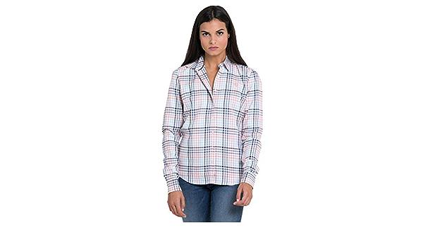 Valecuatro Camisa a Cuadros Abrigada Mujer: Amazon.es: Ropa