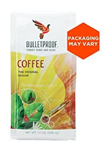 Bulletproof The Original Ground Coffee, Upgraded Coffee Upgrades Your Day (12 Ounces)