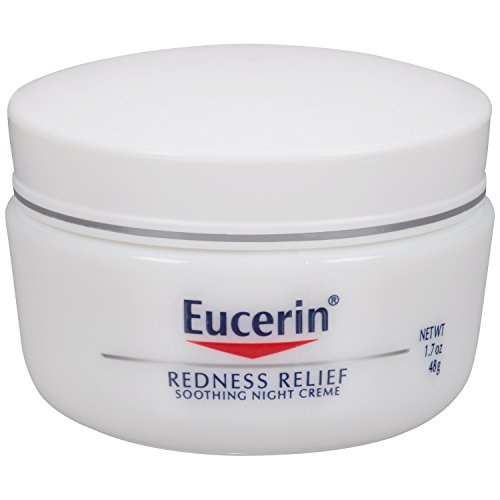 A good moisturizer can do a lot more than keep your skin hydrated. Eucerin Sensitive Skin Redness Relief Soothing Night Creme 1.7 Ounce. #skincare