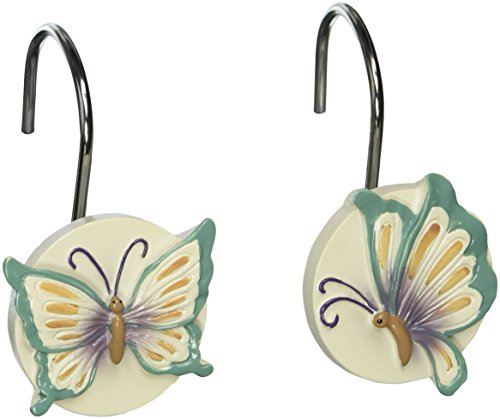 Creative Bath Products Garden Gate Shower Hooks, 12-Pack from Creative Bath