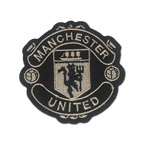 Manchester United MUFC Man U Black and White 3