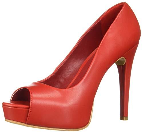 Cereza de Caly Caly Caly con André Zapatos Punta Oriental Mujer Abierta para b1b088