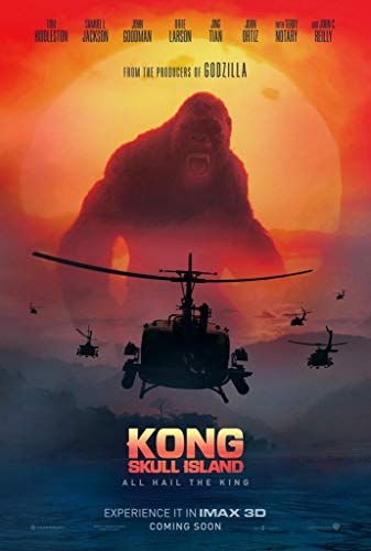 briprints King Kong Skull Island Movie Poster Print Size 24x18 Decoration semi Gloss Paper