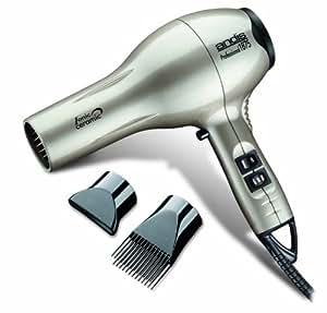 Andis 82310 Professional 1875 Watt Ceramic Ionic Hair Dryer - Platinum