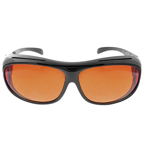 ACME HD Vision Wraparound Sunglasses Wear Over Glasses Rx UV Protection - Wrap Sunglasses Rx Around