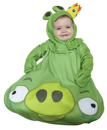 Paper Magic Green King Pig Infant (Angry Birds King Pig Child Costumes)