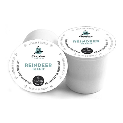 Caribou Reindeer Blend Keurig 2.0 K-Cup Pack, 160 Count by Caribou Coffee