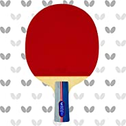 Butterfly RDJ CS2 Ping Pong Paddle – ITTF Approved Table Tennis Racket – Excellent Balance of Spin, Speed, and