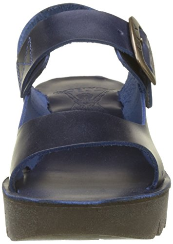 Fly London Ladies Yail907fly Sandali Blu (blu)