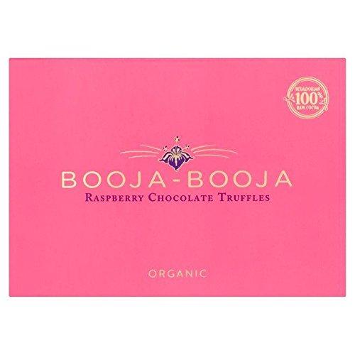 Booja-Booja Dairy Free Raspberry Ecuadorian Chocolate Truffles - 69g