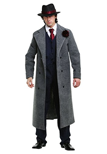 Cold Blooded Mobster Mens Costume - XL