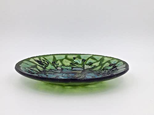 Decorative Collectibles Collectibles Fine Decorated Green Glass Bowl