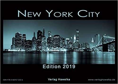 New York Kalender 2019 Din A3 Amazon Fr Livres Anglais Et