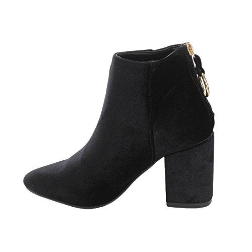 Yoki Frauen Stiefel Black