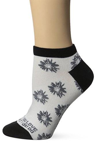 Life is good Women's Low Cut Daisy Socks