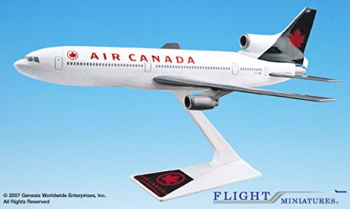 Air Canada Model - Flight Miniatures Air Canada 1994 Colors Lockheed L-1011 1:250 Scale Display Model