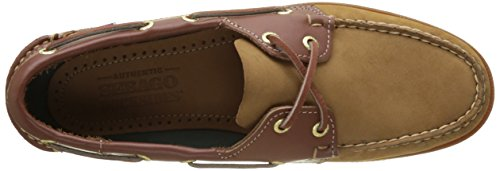 Sebago Endeavor, Náuticos Para Hombre Marrón (Tan Nubuck/leather)